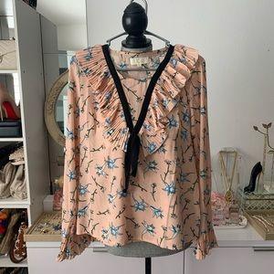 Dusty pink/peach blouse